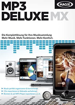 MAGIX MP3 deluxe MX [Download]