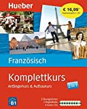 Komplettkurs Französisch: Anfängerkurs & Aufbaukurs / Paket: 2 Übungsbücher + 8 Audio-CDs