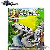 ANIMALES DE JUGUETE JUGUETES ANIMALES JUGUETE ANIMAL PVC 4 ANIMALES DEL CAMPO