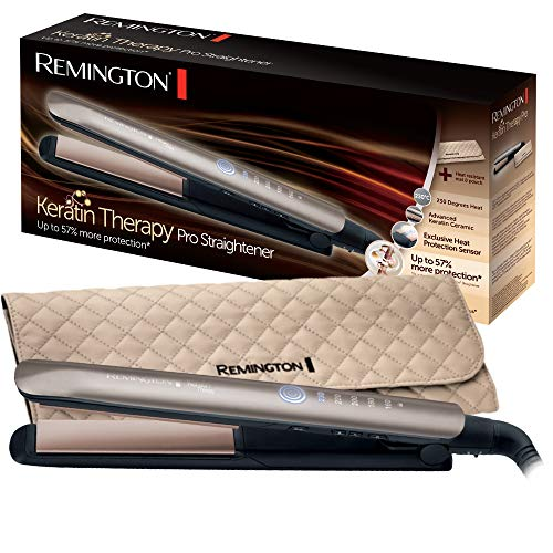 Remington S8590 Keratin Therapy Pro Piastra per Capelli,...