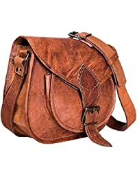 "9"" Leather Cross Body Bags Leather Sling Bag For Women Purse For Znt Bags - B0795S7F8Q"