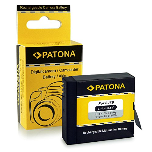 Galleria fotografica PATONA Batteria SJ7 per SJCAM SJ7 Star SJ7000 [ Li-Ion, 910mah, 3.8V ]