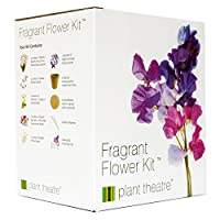 Plant Theatre Fragrant Flower Kit - 6 Wonderful Scented Varieties to Grow - Ideal Gift