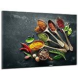 Restaurant/Cuisine Épices/Ingrédients Impression Sur Toile, HD Moderne Moderne Affiche Imprime La Peinture Décorative Artistique Imprimé Photos De Salle De Séjour Hôtel,45 * 30cm...