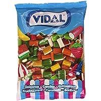 Vidal - Surtido Regaliz Colores - Caramelo de goma - 1 kg