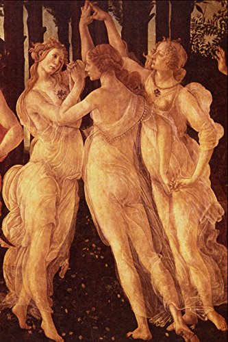 508060 _The Graces_ (detail) Sandro Botticelli A4 Photo Poster Print 10x8