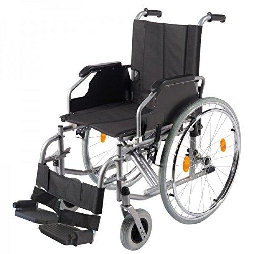 Trendmobil Rollstuhl TMB Faltrollstuhl Transportrollstuhl Reiserollstuhl mit Steckachsensystem - Sitzbreite 51 cm