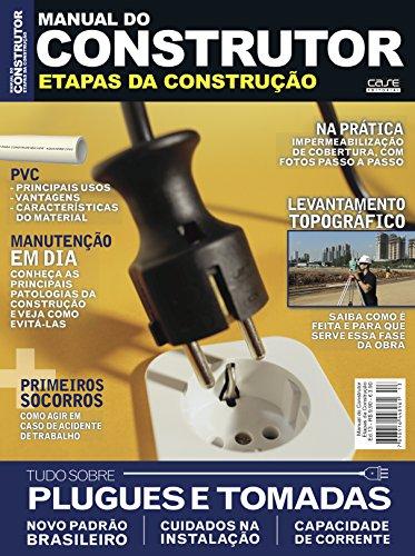 Manual do Construtor Etapas da Construção Ed. 13 - Plugues e Tomadas (Portuguese Edition) por Edicase