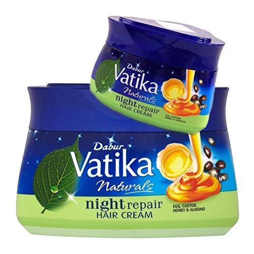 Dabur Vatika Naturals Night Repair Hair Cream (Haar-Creme für die nächtliche Anwendung) 140ml (Intensive Repair Night Creme)
