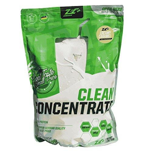 ZEC+ Clean Concentrate – 1000 g, Protein-Pulver mit Molkenprotein, kalorienarmes Whey Protein Eiweißpulver, Low Carb Protein Shake mit Geschmack Creamy Caramel