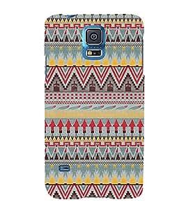 Arrow Pattern Design 3D Hard Polycarbonate Designer Back Case Cover for Samsung Galaxy S5 G900i :: Samsung Galaxy S5 i9600 :: Samsung Galaxy S5 G900F