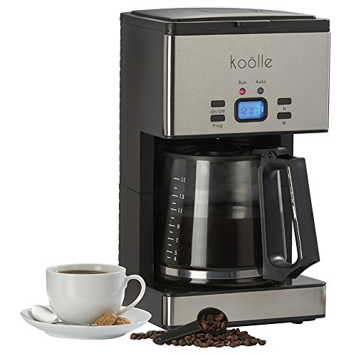 Koölle 1000w Digital Filter Coffee Maker Programmable