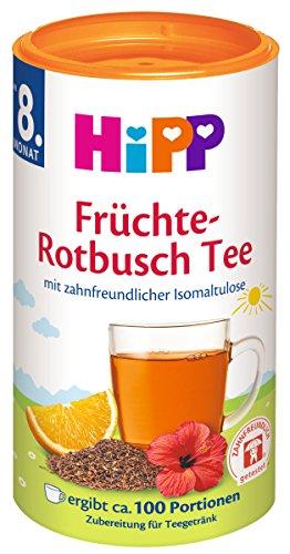 Hipp Früchte-Rotbusch Tee zahnfreundlich, 200 g