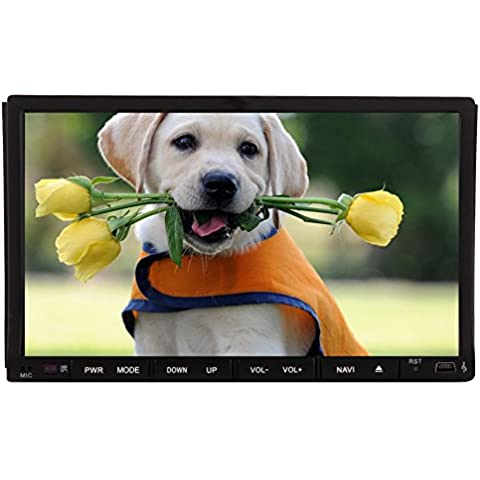 Car Stereo USB SD Bluetooth Car DVD Video Player Autoradio Radio Receiver Monitor Audio CD (Mantenere Pressione Sanguigna)