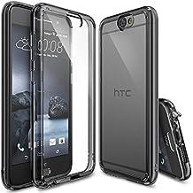 Funda HTC One A9, Ringke FUSION [SMOKE BLACK] Choque Absorción