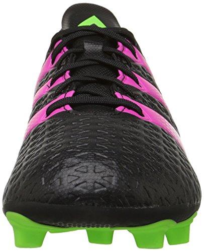 Adidas Performance Ace 16,4 Fg / AG Scarpe da calcio, nero / shock rosa / verde scossa, 6.5 M Us Black/Shock Pink/Shock Green