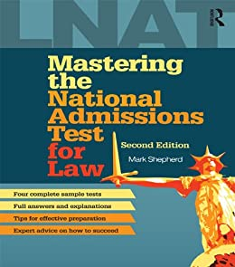 Mastering the National Admissions Test for Law von [Shepherd, Mark]