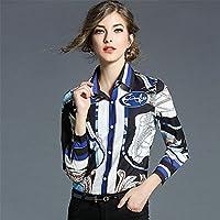 Las mujeres de moda, ocio, sudadera, el otoño y el invierno vestido, camisa de manga larga,Foto color,XL