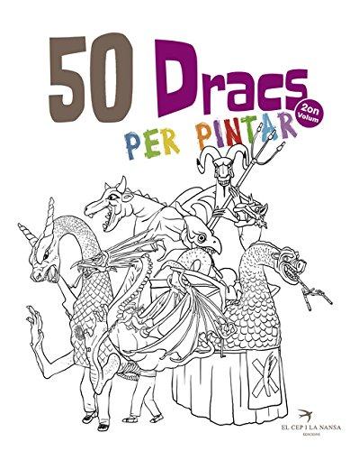 Expositor Cultura Popular - El Cep i la Nansa edicions: 50 Dracs per pintar. Volum 2: 14 (Quaderns per pintar de les Figures de Festa)