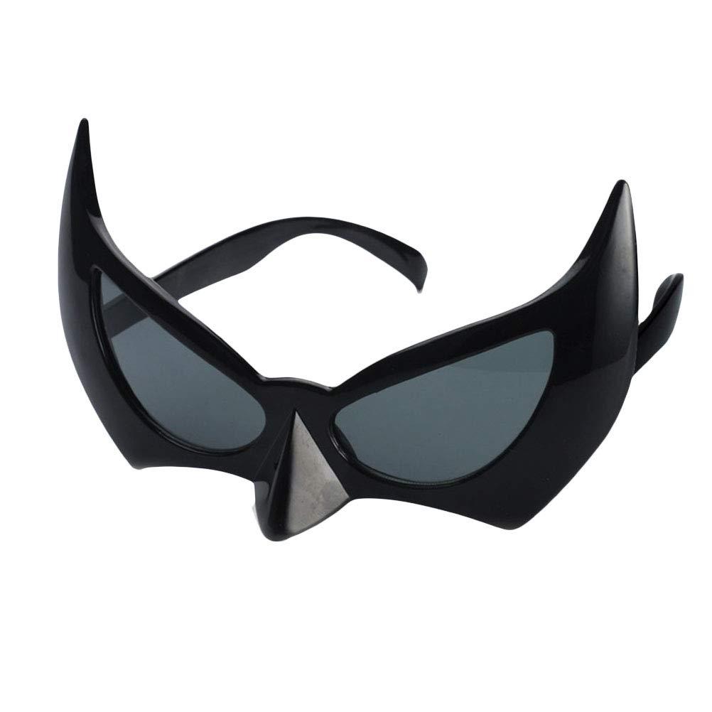BESTOYARD Bat Eye Glasses Batman Mask Gafas de Sol Batgirl Eye Mask Photo Propss Halloween Cosplay Disfraz Masquerade Máscaras Decoración del Partido