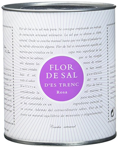 Gusto Mundial Flor de Sal d'es Trenc Rosa, Bio - 1er Pack (1 x 150 g)