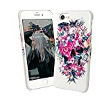 Flowers Head Skull Rock N Roll Girly Jungle iPhone 6 7 8 X - Best Reviews Guide