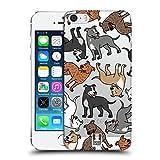Head Case Designs Amerikanischer Staffordshire Terrier Hunderassen Muster 11 Ruckseite Hülle für Apple iPhone 5 iPhone 5s iPhone SE