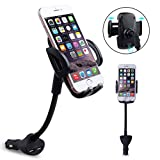 Best IPhone 6 Plus Soportes de coche - Universal Coche Soporte, 2 en 1 con cargador Review
