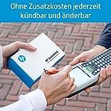 HP DeskJet 3720 Multifunktionsdrucker (Instant Ink, Drucker, Scanner, Kopierer, WLAN, Airprint) blau mit 3 Probemonaten HP Instant Ink inklusive Test