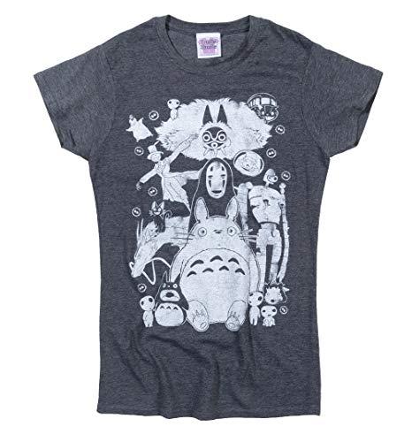 Ghibli Gang T Shirt Damen Studio Ghibli