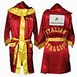 Rocky Balbo rot Movie Italian Stallion Boxing Robe