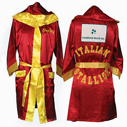 (Rocky Balbo rot Movie Italian Stallion Boxing Robe)