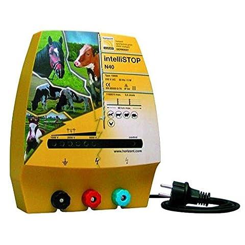 Electrificateur de cloture IntelliSTOP N40