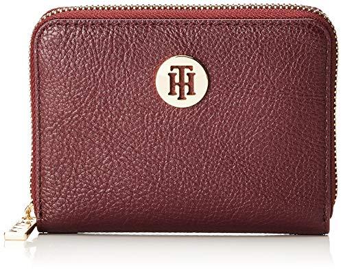 Tommy Hilfiger Damen Th Core Compact Za Wallet Geldbörse, Rot (Cabernet) 11x3x13 cm (Damen Compact)