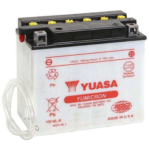 YUASA-Batterie KAWASAKI 1000ccm Z 1000 R ab Baujahr 1983 (YB18L-A)