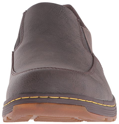 Dr.Martens Mens Brennan Vancouver Leather Shoes Brown