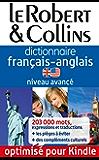 Le Robert & Collins - Dictionnaire français-anglais - Niveau avancé