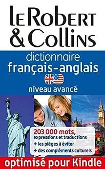 Dictionnaire français-anglais le Robert & Collins - Niveau avancé par [Collectif]