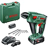 Bosch Home and Garden Uneo Maxx Accuboorhamer (1 Accu, 18V-Systeem, In Draagkoffer)