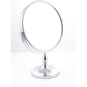 Danielle 10x Magnification 25 Cm Diameter Stand Mirror