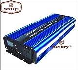 NEWTRY Pure Sinuswellen-Wechselrichter, 3000 (Spitze, 6000 W), DC 12 V auf AC 110 V/220 V LED CE
