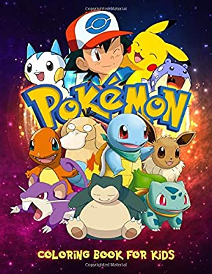 Pokemon Coloring Book: Exclusive Coloring Book For Kids de Independently published