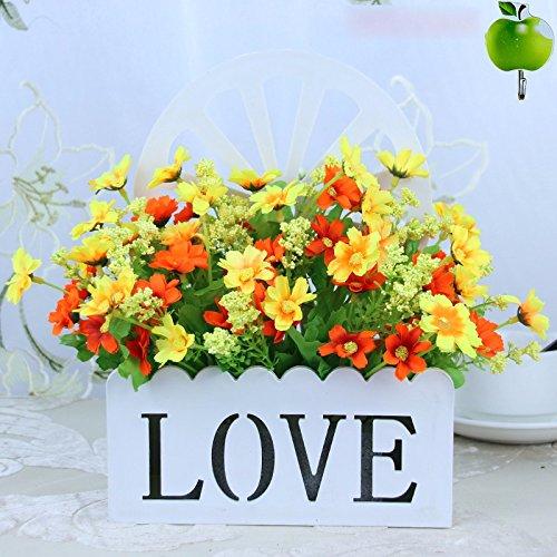 Blumenampel floral Florale emulation Blume Blumen hängende Wand Dekoration Blumen Warenkorb kit anpassen