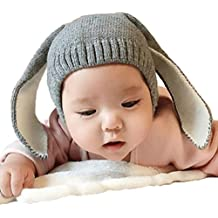 Xinantime Gorros Bebé,Xinan Niño Niña Invierno Sombrero Orejas ...
