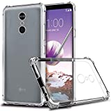 BAI AND Kaka® Back Cover, Premium Quality [Bumper Transparent] Perfect Fit Case Cover for LG Q Stylus Plus