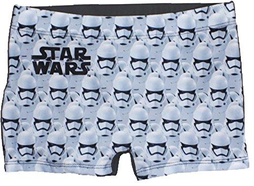 te Star Wars Boys Swim Short / Schwimmen Kostüm (8 Jahre (128 cm), Grau) (Star Wars Kostüme Offizielle)