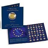 Album PRESSO pour les 23 pièces de 2 euros commémoratives « 30 ans du drapeau de l'UE »