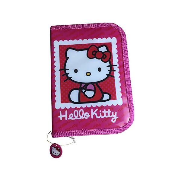 Mochila escolar de Hello Kitty con estuche para lápices