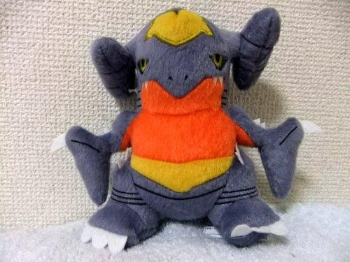 Perfectly round stuffed dragon ~ ~ Gaburiasu single item Banpresto Prize Innovation Pokemon Best Wishes roller (japan import)