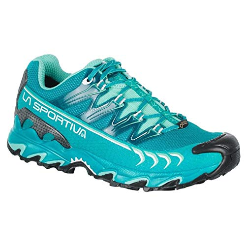 La Sportiva Ultra Raptor Woman GTX Emerald/Mint, Scarpe da Fitness Donna, Multicolore 000, 40.5 EU